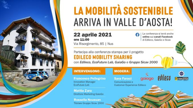 GaiaGo integra il progetto di Community Mobility Sharing aziendale della Val d'Aosta