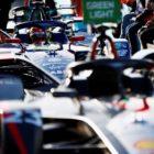 Robin Frijns (NLD), Envision Virgin Racing, Audi e-tron FE07, in the pit lane
