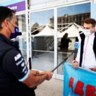 Nico Muller (CHE) Dragon Penske Autosport, is interviewed