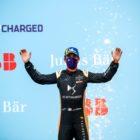 Race winner Jean-Eric Vergne (FRA), DS Techeetah celebrates on the podium