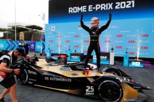 Formula E. Jean-Éric Vergne ha vinto la gara 1 dell'E-Prix di Roma