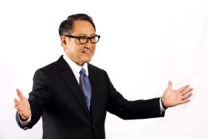 Premiato Akio Toyoda (Toyota) come la persona dell'anno dell'auto