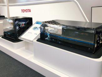 Fuel Cell Toyota per lo sviluppo di treni a zero emissioni