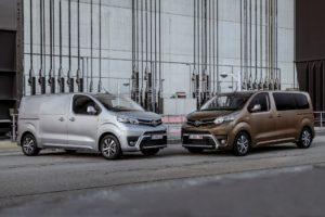 Toyota presenta il modello Proace in versione elettrica