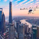 VoloCity flies over Shanghai