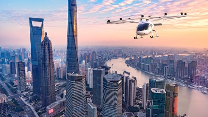 Volocopter e Geely