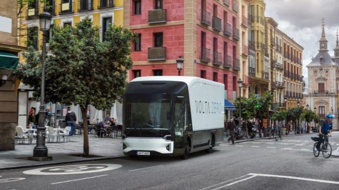 Debutto spagnolo per Volta Trucks