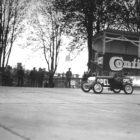 Opel Rak 1, pilotiert von Kurt Volkhart. Frühjahr 1928