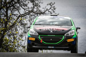 Ventidue protagoniste a inseguire il Peugeot Competition 208 Rally Cup Pro a Piancavallo
