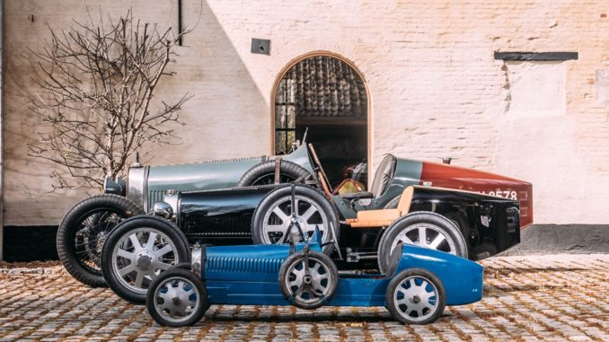 Arriva la Bugatti Baby II da The Little Car Company