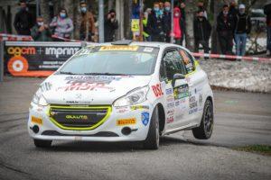 Apertura al Piancavallo del Peugeot Competition 208 Rally Cup Pro