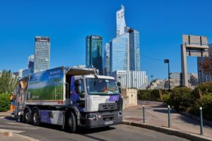 Suez e dieci camion elettrici Renault per la raccolta rifiuti a Neuilly sur Seine