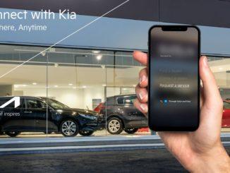 Nuova APP Kia con guida vocale per i servizi di assistenza