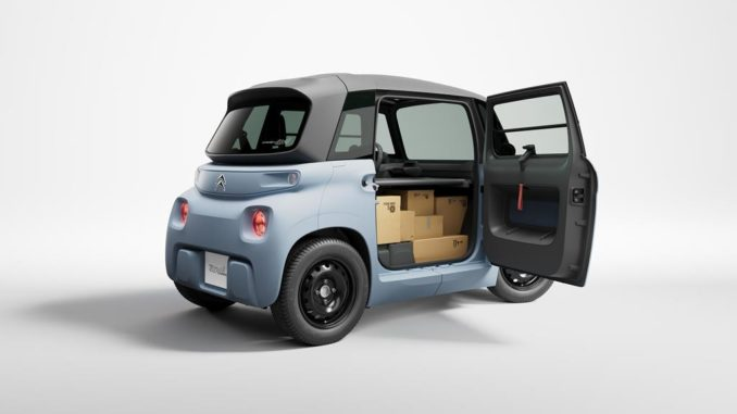 Citroën My Ami Cargo per la micromobilità dei professionisti