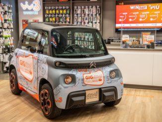Partnership Citroën e WindTre per il lancio di Ami – 100% ëlectric