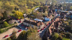Lancio di Mustang Mach-E a Fordwich, la città più piccola del Regno Unito
