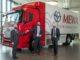 Hyundai ha consegnato il camion Xcient Fuel Cell a MEWA