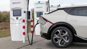 Agreement Kia e Ionity per la ricarica ultra rapida