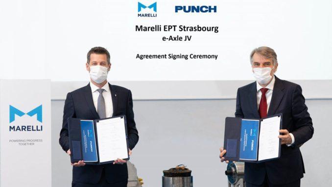 Joint venture tra Marelli e Punch Motive International