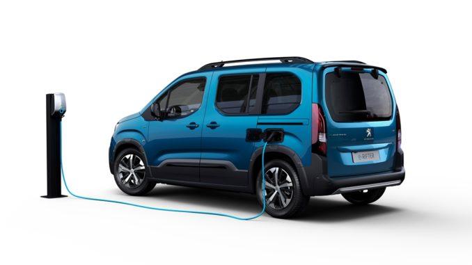Ordinabile da oggi in Italia il Nuovo Peugeot e-Rifter