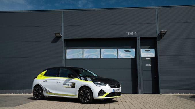 Pronto il Rally Design Kit per la Opel Corsa-e
