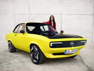 Opel Manta è tornata, ora è elettrica e si chiama GSe ElektroMOD