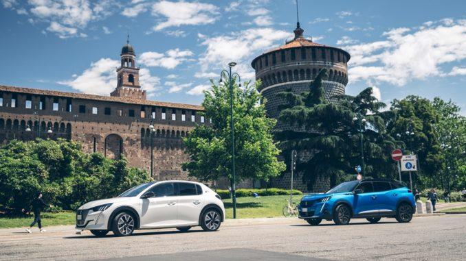 Alla scoperta dei luoghi milanesi di Leonardo Da Vinci con Peugeot e-208 ed e-2008