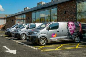 Vauxhall Vivaro-e alla società Mitie