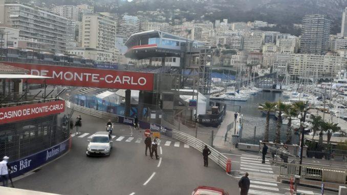Cartoline dalla Formula E nel Principato di Monaco