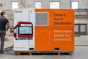 Batterie di seconda vita firmate Zenobe, dagli autobus di Stoccolma alle operazioni di Extreme E