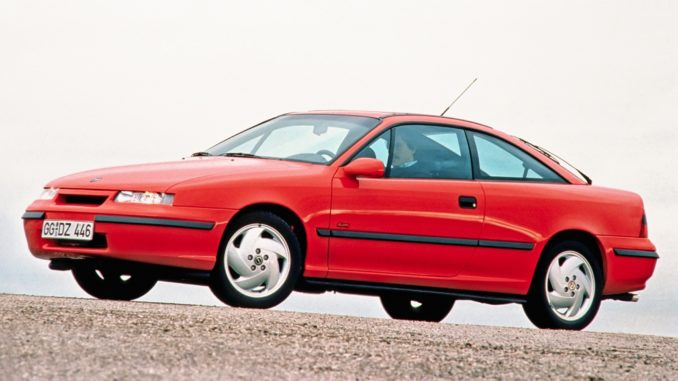 Storia. Trent'anni fa la coupé Opel Calibra in versione turbobenzina