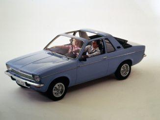 Quando la Opel Kadett perse il tetto per la prima volta