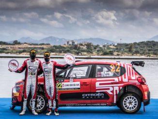 Rally di Sardegna: ostacoli superati da Ostberg, Eriksen e la Citroën C3 Rally2