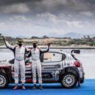 @ Citroën Racing Y.ROSSEL podium