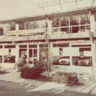Concessionaria Peugeot Ponginibbi anni 70