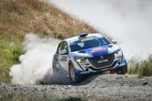 Terzo posto per i Nucita e la Peugeot 208 ufficiale al Rally San Marino