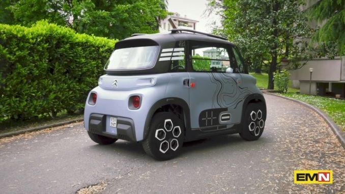 A spasso per Monza con Citroën Ami – 100% ëlectric