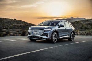 L'offerta Audi Q4 e-tron di noleggio a breve e lungo termine