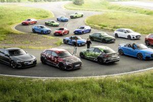 Sostenibilità e performance nella gamma Audi Sport