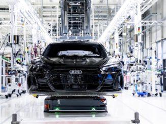 Accelerazione Audi verso la mobilità elettrica