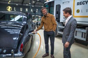 David Beckham investe in Lunaz