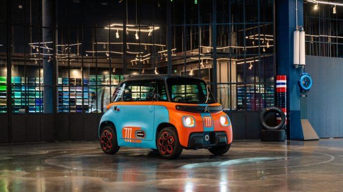 Personalizzazione unica di Citroën AMI – 100% ëlectric da Garage Italia
