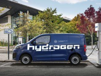 Nuovo Citroën ë-Jumpy proposto anche in versione Hydrogen