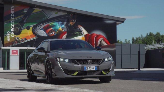 Dalle competizioni alla serie con Peugeot 508 PSE