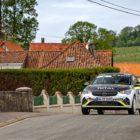 Opel Corsa-e Rally @Rallye du Touquet 2021