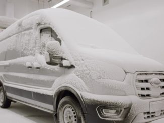 Ford E-Transit elettrico sottoposto a severi test