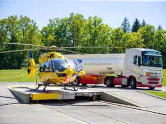 Per la prima volta carburante sostenibile per aviazione per l'elicottero di soccorso tedesco
