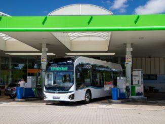 L'autobus Hyundai Elec City fuel cell a idrogeno inizia i test a Monaco di Baviera