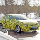 getarnter Opel Astra L in Schweden, 03/2021