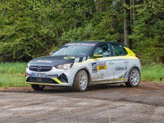 Al via a Stemwede l'ADAC Opel e-Rally Cup